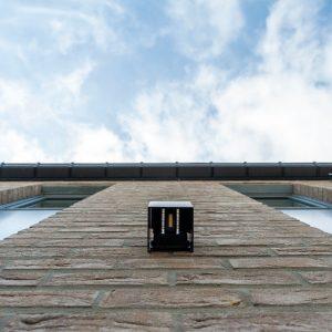 Eclairage extérieur d'une construction contemporaine Welkenraedt