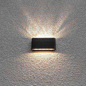 Eclairage extérieur d'une construction contemporaine Richelle