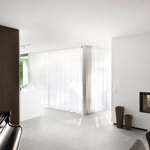 Feu d'une maison contemporaine à Lasne