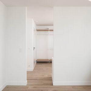 Chambre d'une construction contemporaine