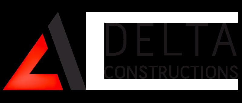delta logo header black