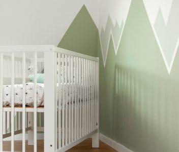 Chambre d'enfant dans une maison contemporaine à Beaufays