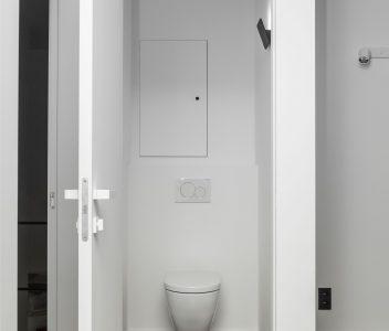 Toilette suspendue à Richelle