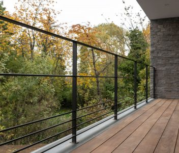 Balcon terrasse à Richelle