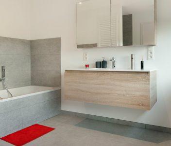 Meuble d'une salle de bain contemporaine