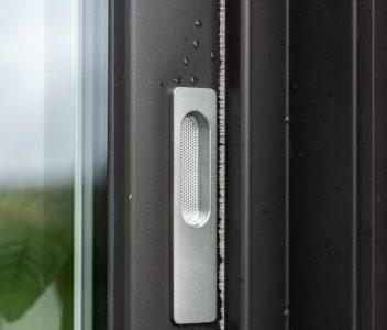 Détail de porte extérieure à Nandrin