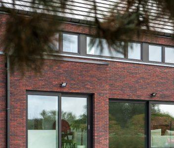 Châssis de maison contemporaine à Nandrin
