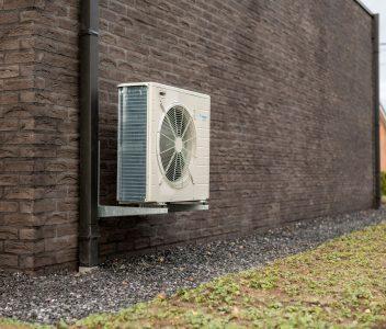 Ventilation d'une maison contemporaine