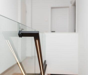 Rampe d'escalier contemporain