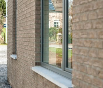 Châssis arrière de maison contemporaine à Welkenraedt