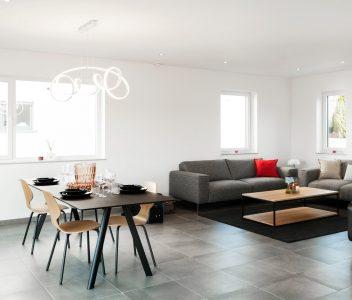 Living de maison contemporaine à Welkenraedt