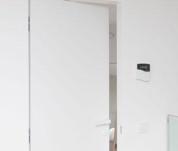 Détail d'une porte contemporaine