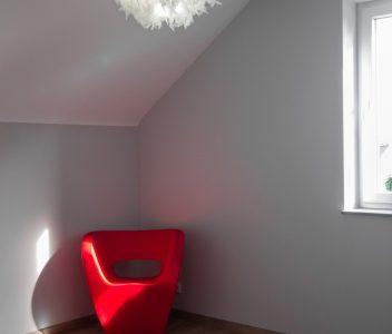 Chambre dans une maison contemporaine à Omal