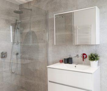 Salle de bains à Odeur