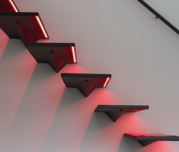 escalier à Beaufays