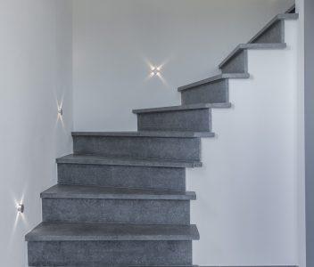 escalier à Crisnée