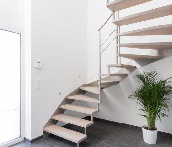 escalier à Villers Le Bouillet