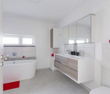 salle de bains à Villers le Bouillet