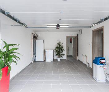 intérieur garage à Othée